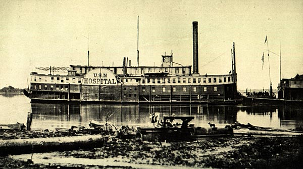 Image of U. S. N. Hospital Boat