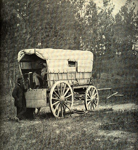 Image of Telegraph Battery Wagon
